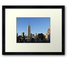 Rooftops of Manhattan Framed Print