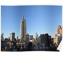Rooftops of Manhattan Poster
