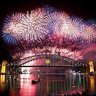 Sydney Fireworks 2011-12 by TedmBinegas