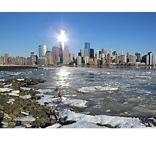 New York on Ice Photographic Print