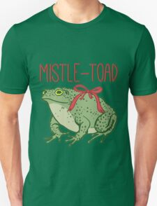 MistleToad - Funny Toad - Christmas - Holiday T-Shirt