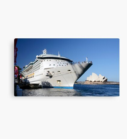 Floating... not sinking! Canvas Print