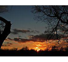 MLK Day Sunset Photographic Print