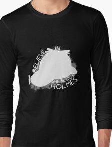 I Believe In Sherlock V.1 (white) Long Sleeve T-Shirt