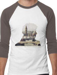 I Survived The Reichenbach Fall #2 Men's Baseball ¾ T-Shirt