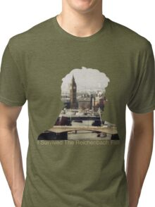 I Survived The Reichenbach Fall #2 Tri-blend T-Shirt