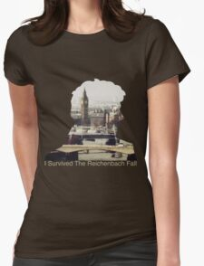 I Survived The Reichenbach Fall #2 Womens Fitted T-Shirt