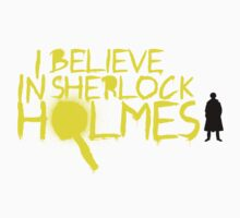 I Believe In Sherlock V.2 (Graffiti) T-Shirt