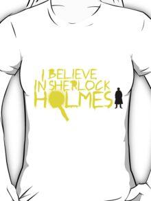 I Believe In Sherlock V.2 (Graffiti) T-Shirt