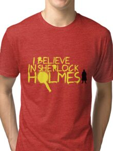 I Believe In Sherlock V.2 (Graffiti) Tri-blend T-Shirt