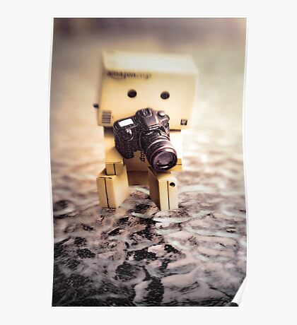 Danbo and Camera Poster