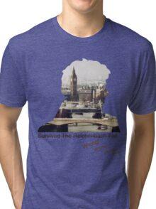 I survived Reichenbach - WRONG! Tri-blend T-Shirt