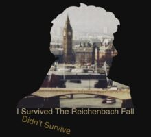 I didn't survive the Reichenbach Fall T-Shirt