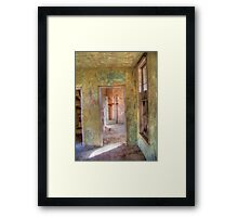Weathered Rooms Framed Print