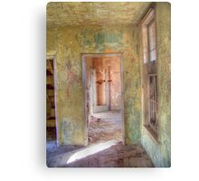 Weathered Rooms Metal Print