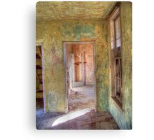 Weathered Rooms Canvas Print