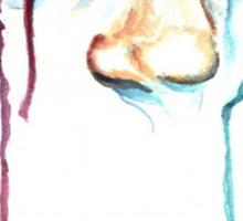 TearDrop/ORIGINAL PAINTING by Amit Grubstein Sticker