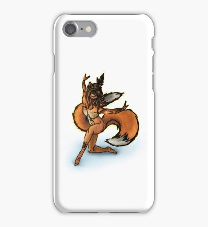 Indian Fox Girl iPhone Case/Skin