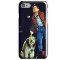 marty mcfly back to the future iPhone Case/Skin