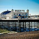Brighton pier by Pat Shawyer