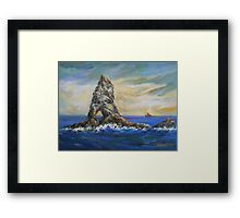 Colombretes Island Framed Print