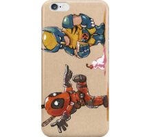 Little Wolverine drops his ice cream. (Parody) iPhone Case/Skin
