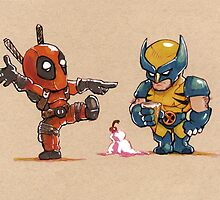 Little Wolverine drops his ice cream. (Parody) by anthonyromrell