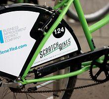 Newcastle Bikes by Jonathan Oakley