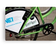 Newcastle Bikes Canvas Print