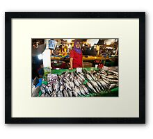 Raw exchange 3 Framed Print