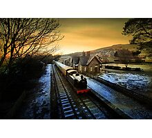 Sunrise in Hawes  Photographic Print