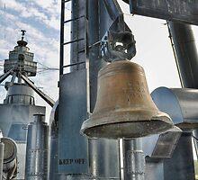 Battleship Texas - Ships Bell by Savannah Gibbs