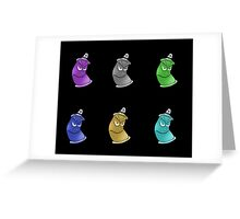 Spray Cans Greeting Card