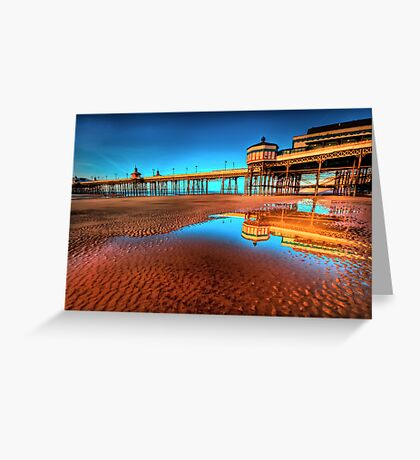 The Pier Goes On Greeting Card