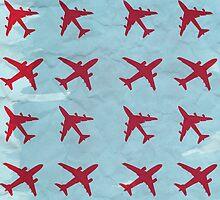 Retro airplanes by Alejandro Durán Fuentes