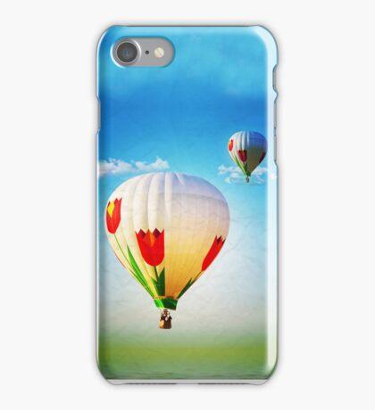 hot air ballon iPhone Case/Skin