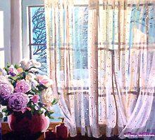 Window on winter by Dan Wilcox