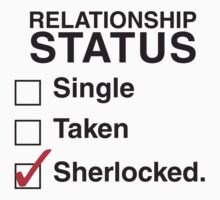 SINGLE TAKEN SHERLOCKED by thischarmingfan