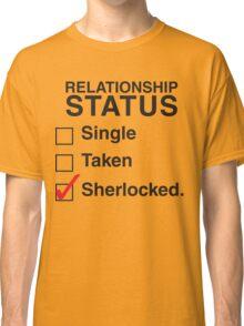 SINGLE TAKEN SHERLOCKED Classic T-Shirt