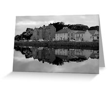Reflections from the Claddagh, Galway, Ireland Greeting Card