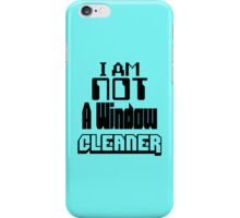 Window Cleaner iPhone Case/Skin