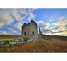 Cornwall: Carn Galver Mine Photographic Print