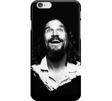 Dude is elated. iPhone Case/Skin