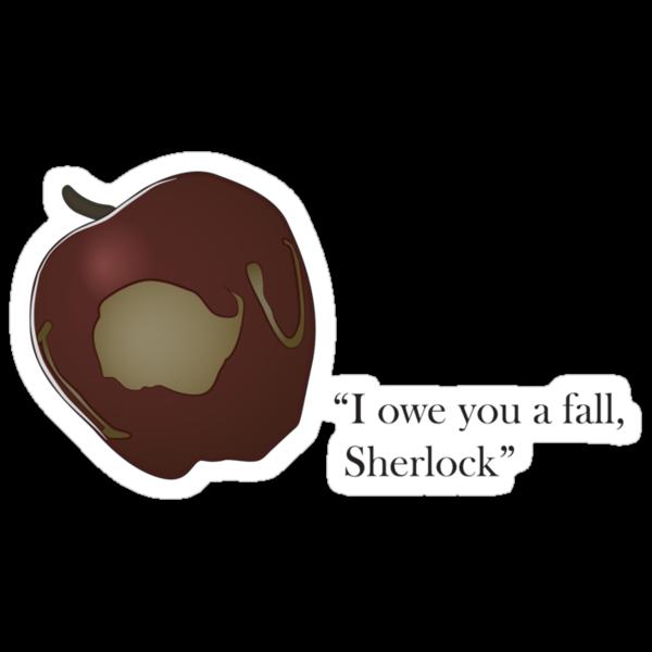 I owe you a fall Sherlock by LeapandiDesign