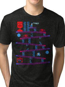 DONKEY TRON Tri-blend T-Shirt