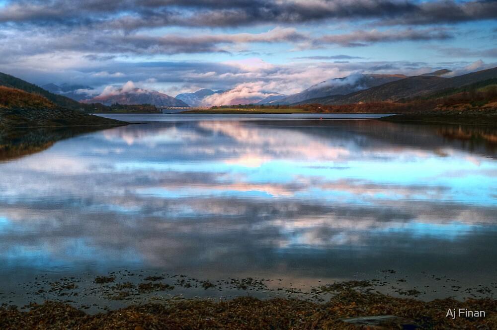 Morning Reflections On Loch Leven by Aj Finan