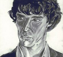 Benedict Cumberbatch by Caroline Smalley