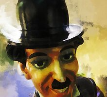 Charlie Chaplin the tramp by buttonpresser