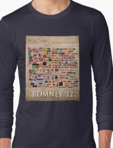 We the people, Romney 2012 Long Sleeve T-Shirt