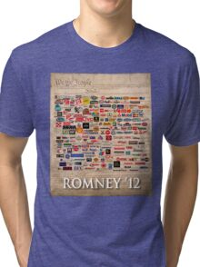 We the people, Romney 2012 Tri-blend T-Shirt